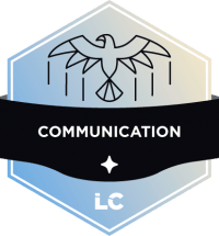Involved-level Communication Badge