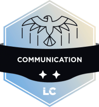 Engaged-level Communication Badge