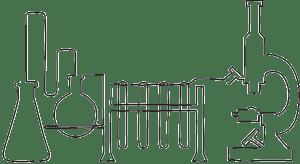 Sketch of chemistry set.