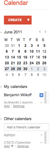 Does anyone else see this really bad looking sidebar in their new Google Calendar view (i.e., everything is really…