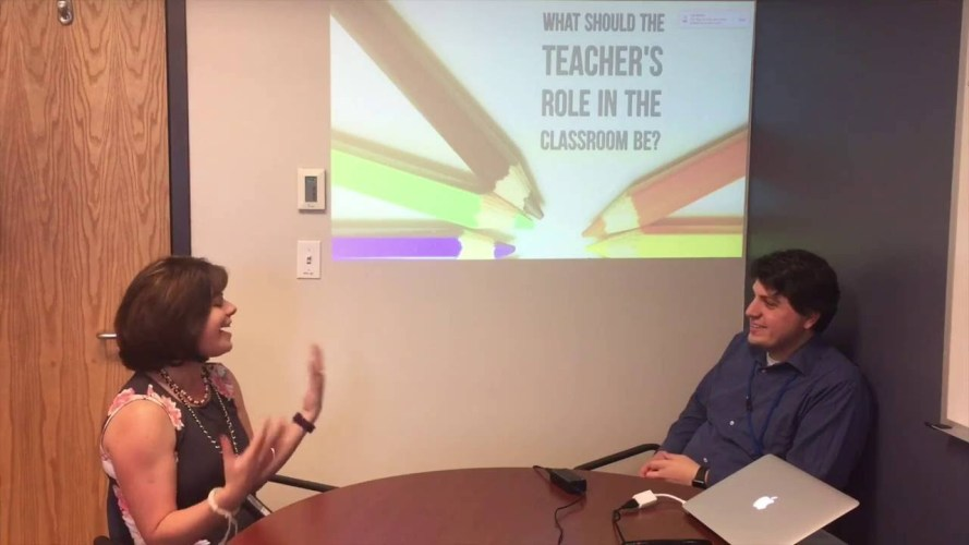 #WHOISaps: What should the role of teachers in the classroom be?