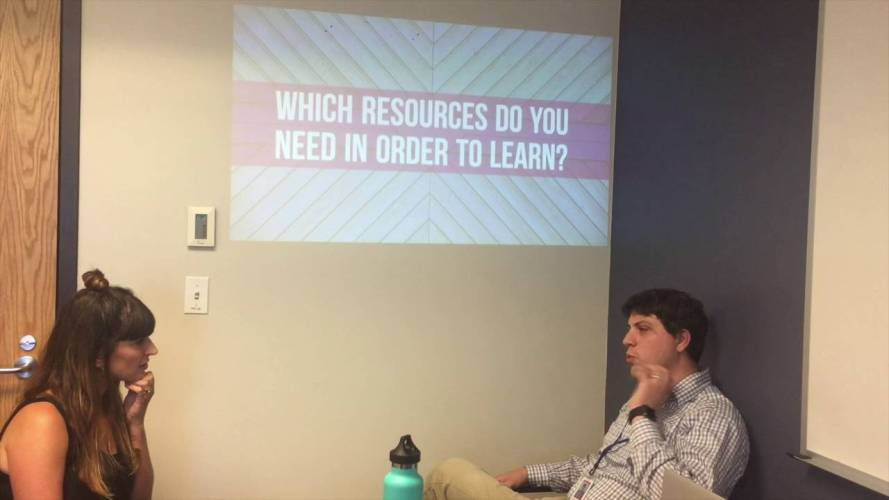 #WHOISaps: Which resources do you need in order to learn?