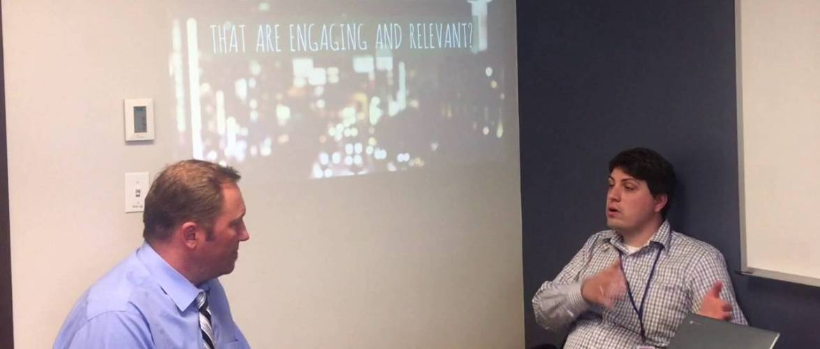 #WHOISaps: How should we design learning experiences that are engaging and relevant?