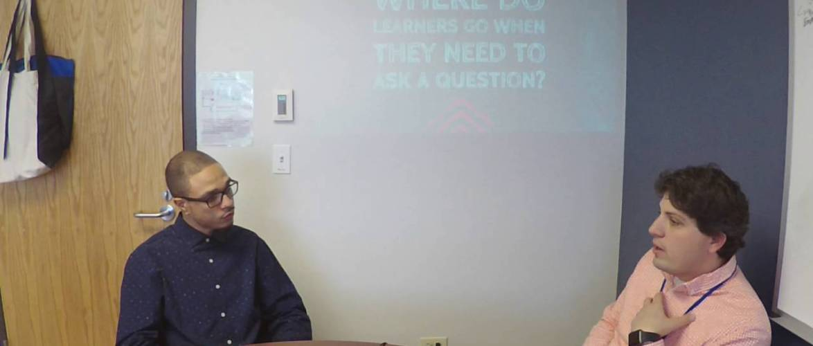#WHOISaps: Where Should Learners Go When they Need to Ask a Question?