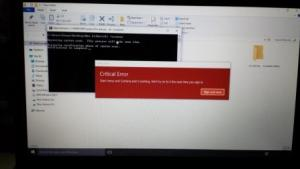 sfc scannow to resolve Start Menu and Cortana issue