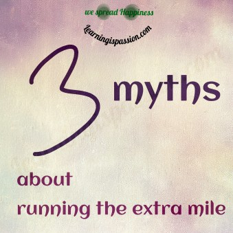 myths about running the extra mile
