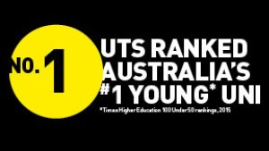 UTS no 1 youth university ranking
