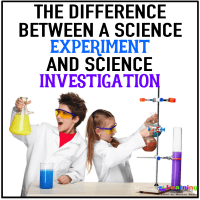 Anchor Chart –  Experiment Vs. Investigation – What's the Difference?
