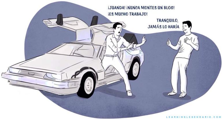 Juanda Back to the future Delorean