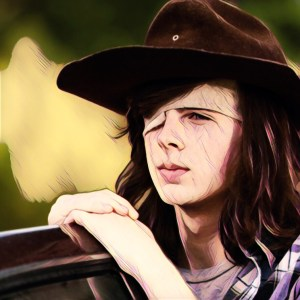 Carl, personaje Walkind Dead