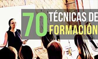 70 técnicas de formación