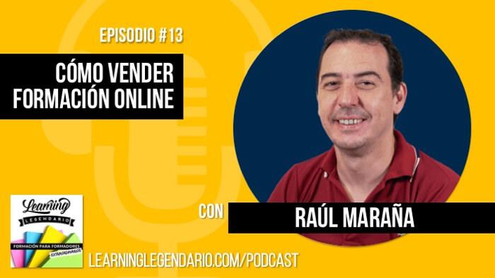 Cómo vender cursos y formación online con Raúl Maraña de Hotmart