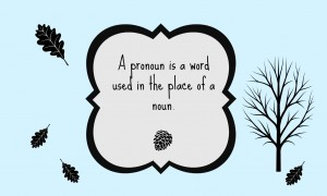 Parts of speech print - pronoun FREE Printables