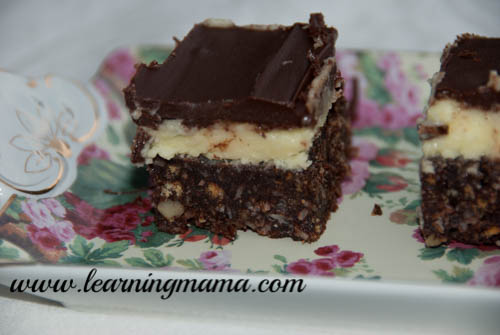 Five Days of Canadian Food! Nanaimo Bar Recipe!