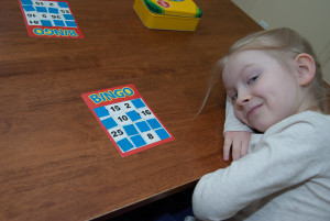 Learning math through games - Math Bingo!