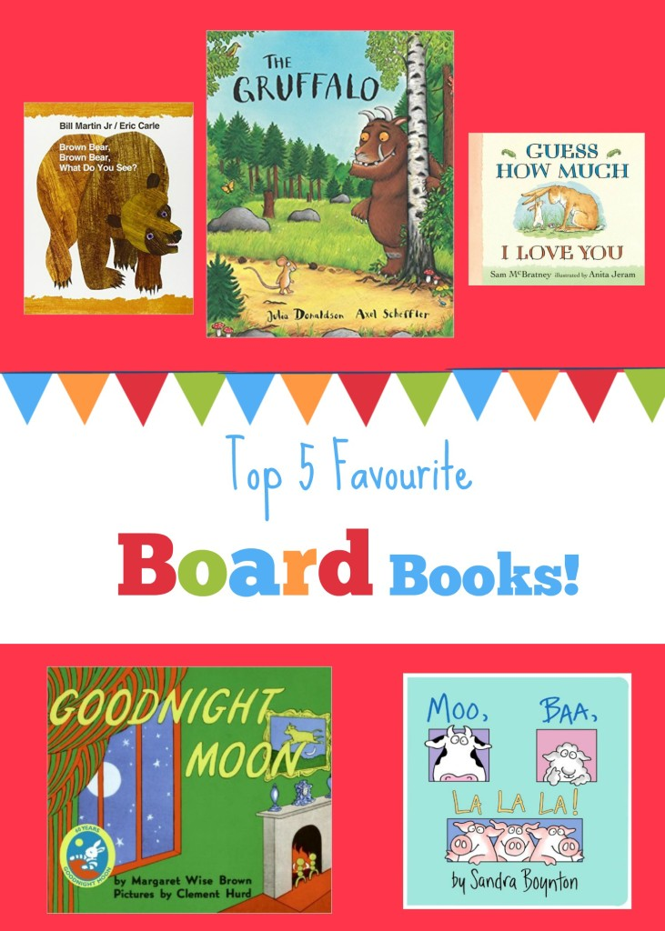 Our Top 5 Favourite Board Books!