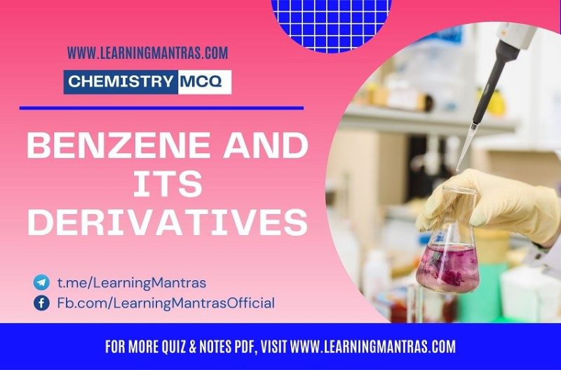 MCQ on Benzene and Its Derivatives