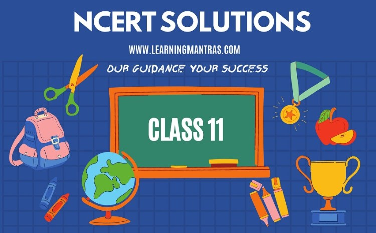NCERT Solutions for Class 11 – Download Subject Wise Solution