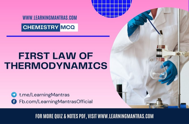 MCQ on First Law of Thermodynamics