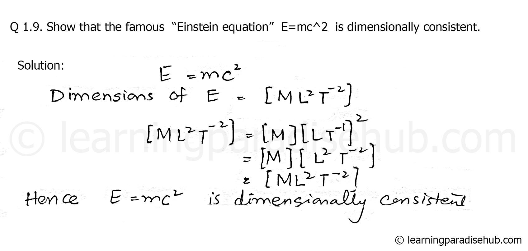 Full E Mc2 Equation