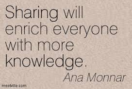 Quote_sharing knowledge