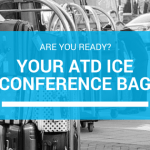 What's in My Conference Bag? ATD ICE 2018