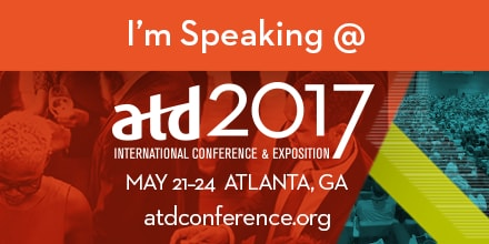 ATD Conference 2017 - I'm Speaking