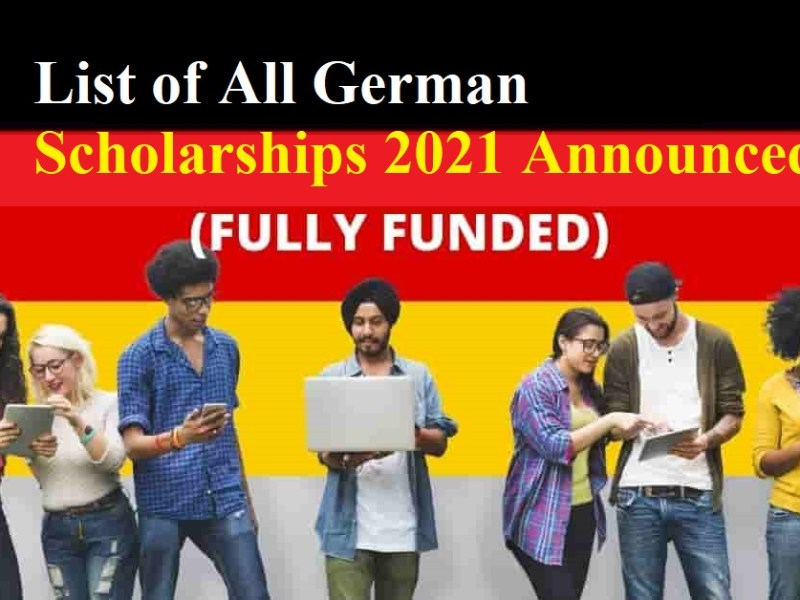 List of All Germany Scholarships 2022 Announced