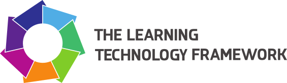 Learning Technology Framework Logo with text
