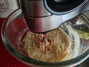 Family Favorite Pecan Chocolate Chip Cookie-Mixing