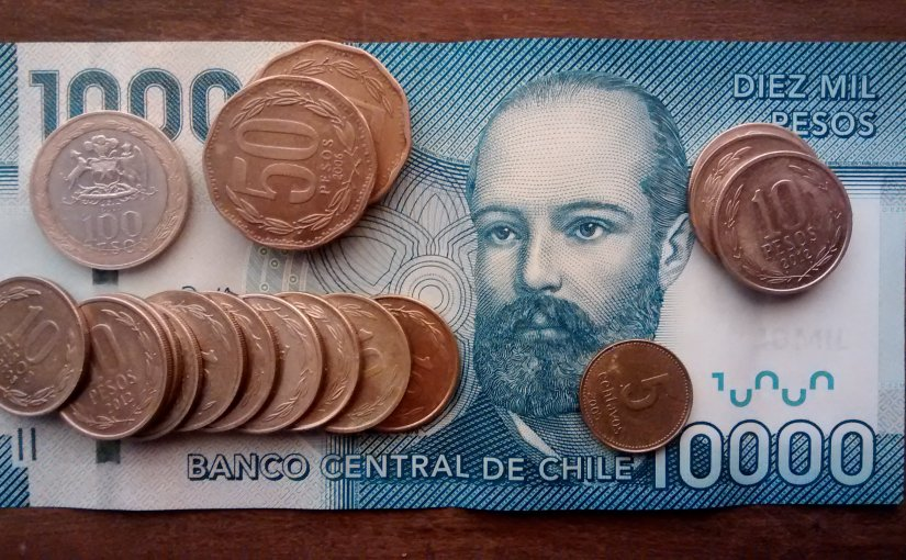 What does the existence of 5 Chilean Pesos suggest about wealth?