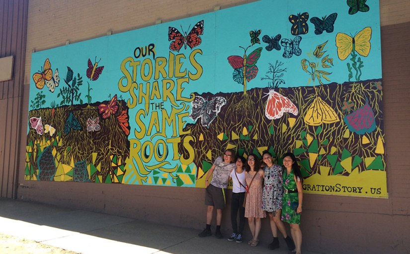 Our Stories Share the Same Roots: A Community Mural Project