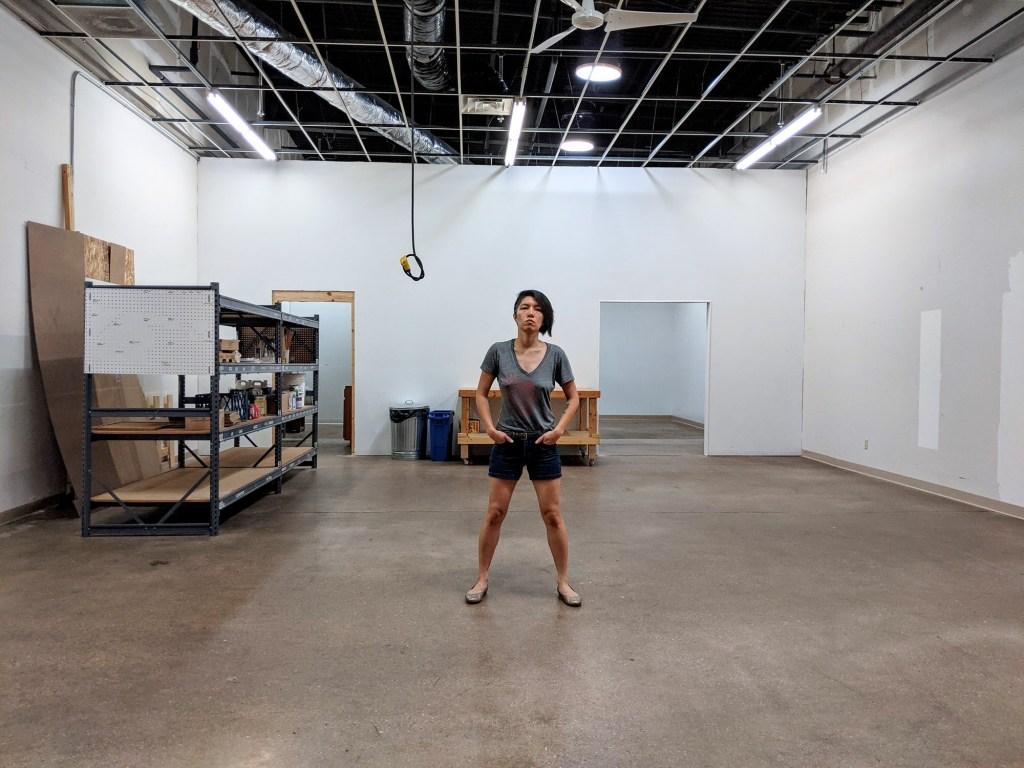 Jenie Gao artist studio