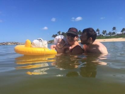 Swimming in Hawaii