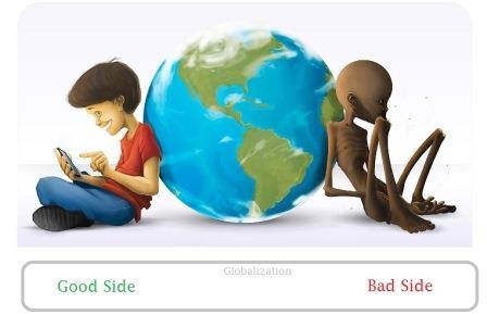Belajar Dampak Positif Globalisasi dan Dampak Negatif Globalisasi