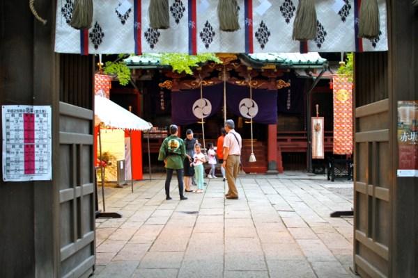 Hikawa Shrine, Akasaka, Tokyo, Japan