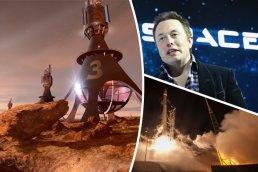 Musk Mars