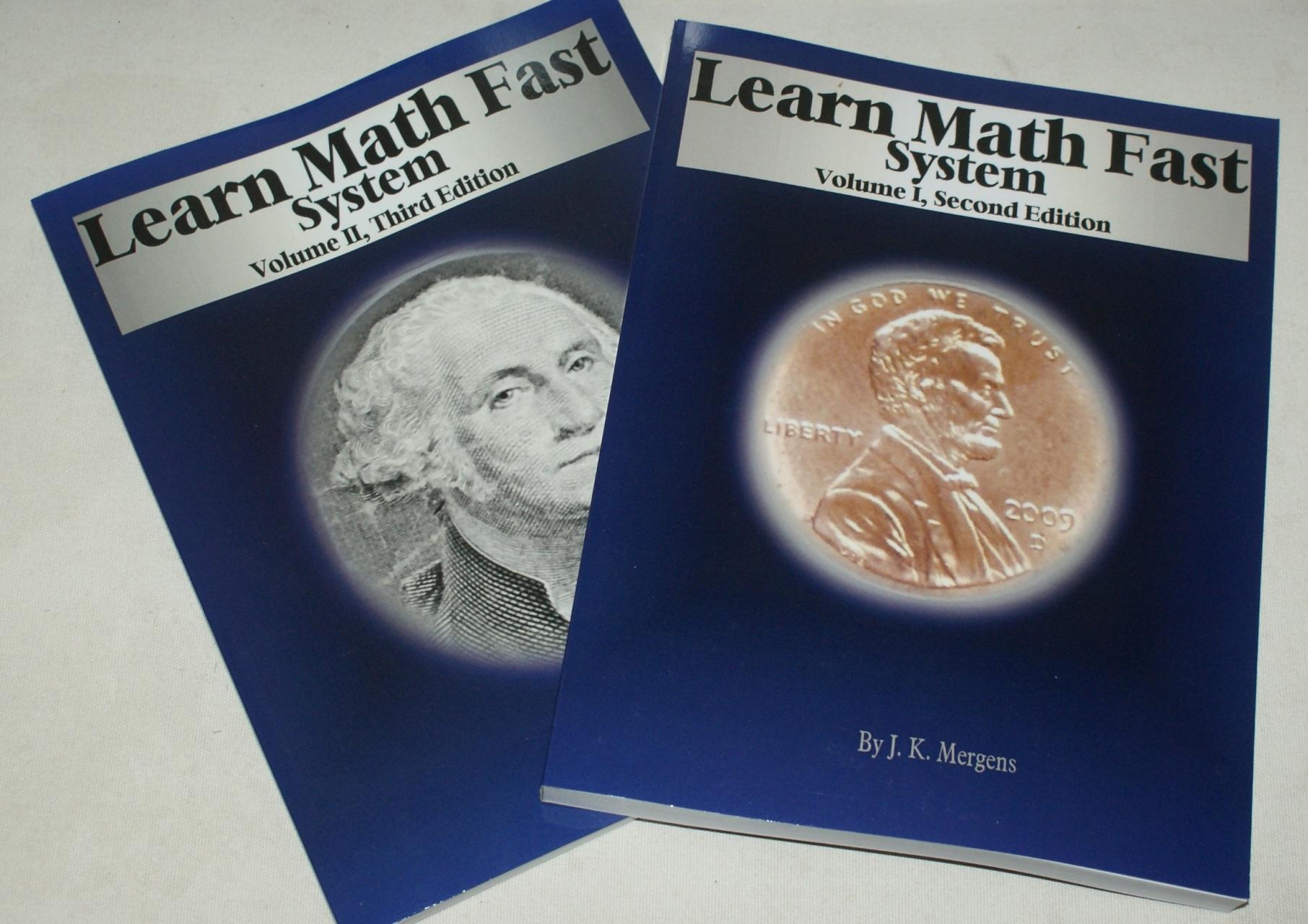 Buy Learn Math Fast Books Learn Math Fast System