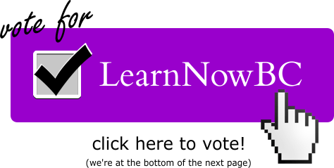 Vote for LearnNowBC Today!