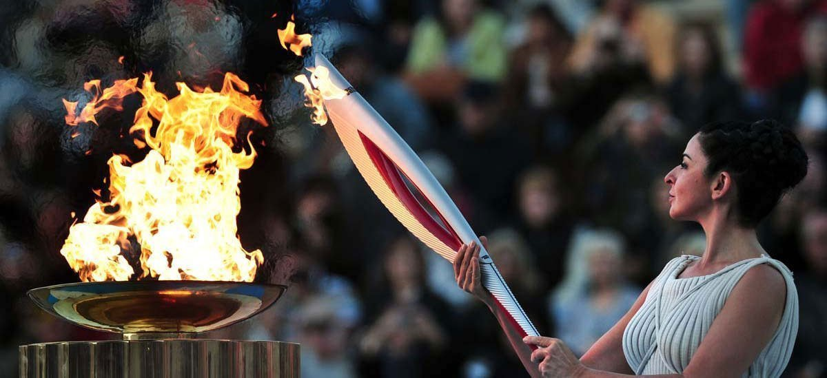 Olympic Flame Featured