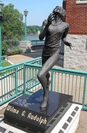Wilma Rudolph Bronze Statue
