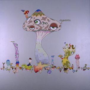Smooth Nightmare by Takashi Murakami