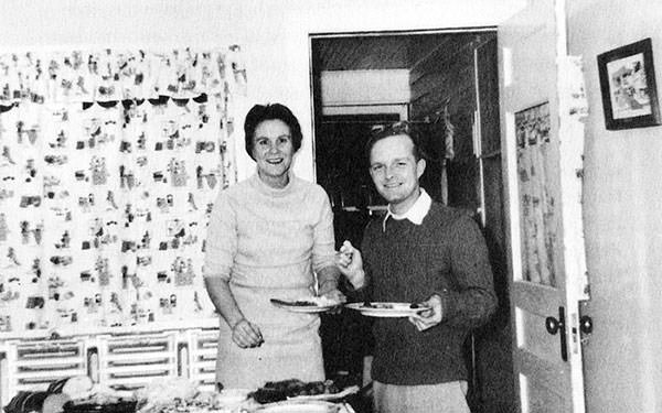 Harper Lee with Truman Capote