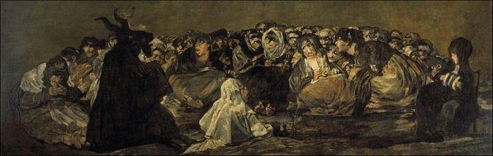 Witches' Sabbath (1823) - Francisco Goya