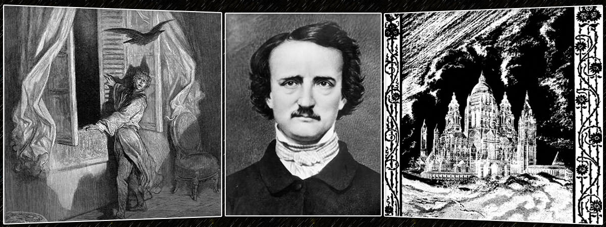 Edgar Allan Poe Famous Poems Featured