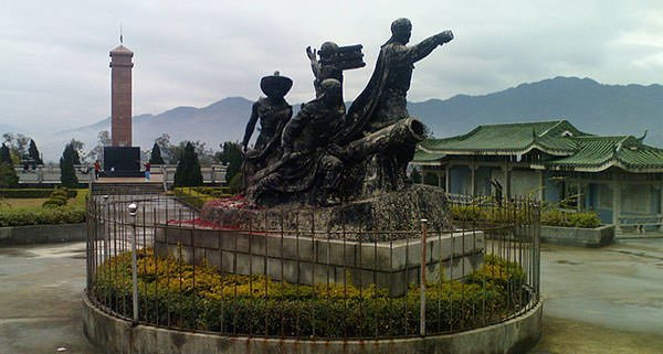 Taiping Rebellion monument in Guangxi