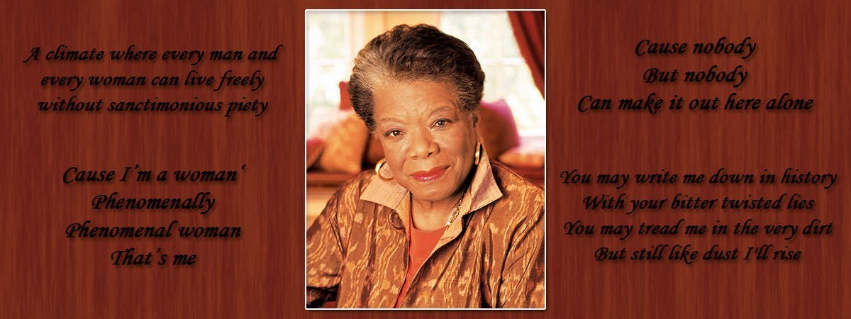 10 Most Famous Poems By Maya Angelou Learnodo Newtonic