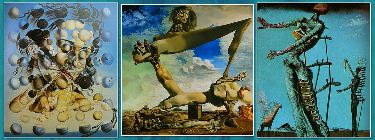 10 Most Famous Paintings by Salvador Dali | Learnodo Newtonic