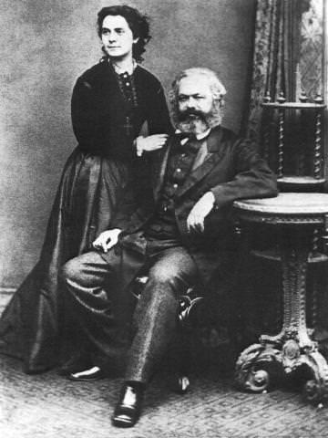 Karl Marx and Jenny von Westphalen