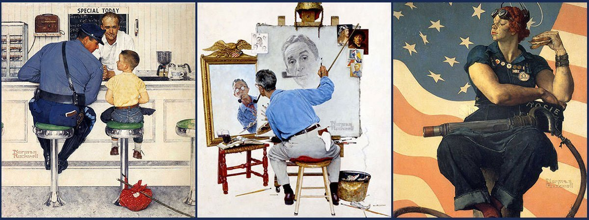 10 Most Famous Paintings By Norman Rockwell Learnodo